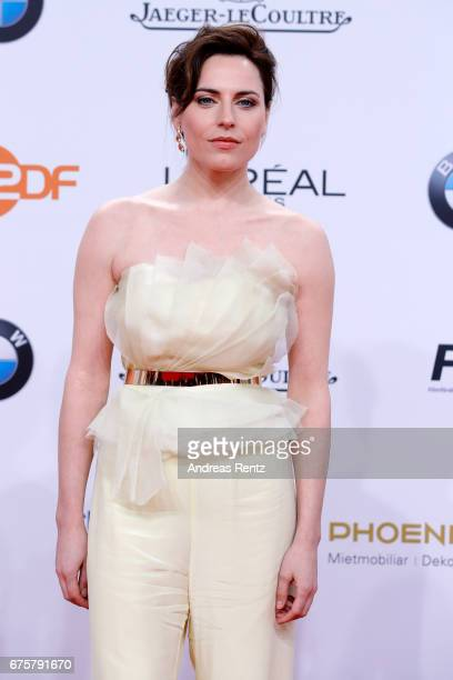 Antje Traue attends the Lola German Film Award red carpet at Messe Berlin on April 28 2017 in Berlin Germany