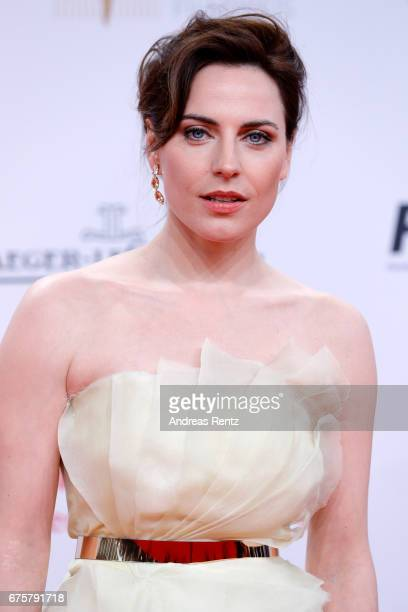 Antje Traue attends the Lola - German Film Award red carpet at Messe Berlin on April 28, 2017 in Berlin, Germany.