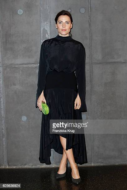 Antje Traue attends the mytheresacom JW Anderson dinner at Berliner Lapidarium on November 24 2016 in Berlin Germany
