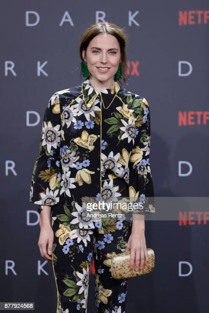 Antje Traue attends the premiere of the first German Netflix series 'Dark' at Zoo Palast on November 20 2017 in Berlin Germany