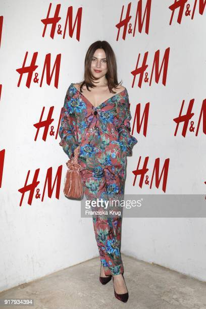 Antje Traue wearing HM during the Inter/VIEW X HM Party on February 13 2018 in Berlin Germany