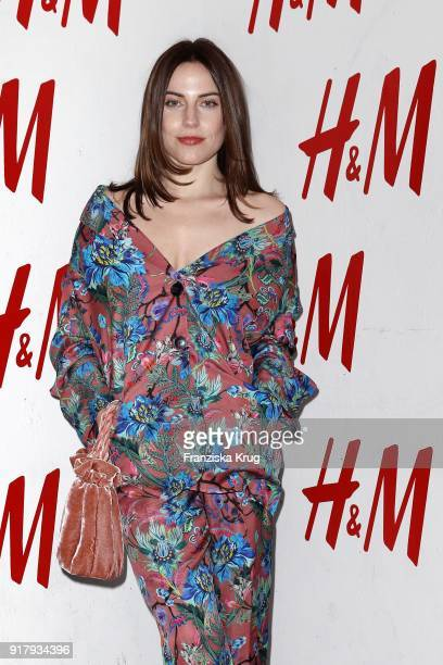 Antje Traue wearing H&M during the Inter/VIEW X H&M Party on February 13, 2018 in Berlin, Germany.