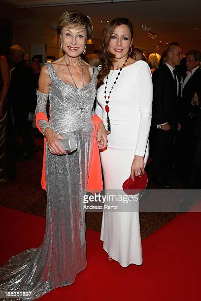 AntjeKatrin Kuehnemann and her daughter Jessica Guehring attend Audi Generation Award 2013 on October 19 2013 in Munich Germany