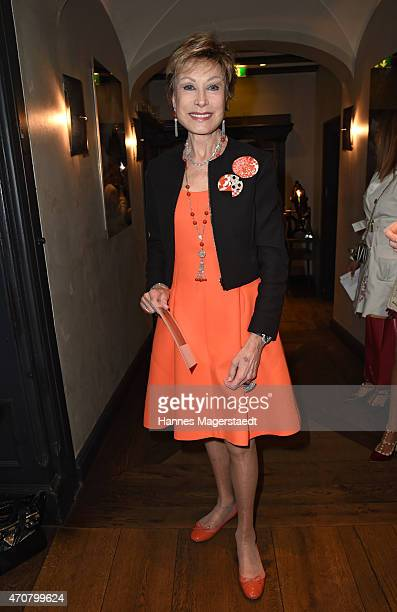 AntjeKatrin Kuehnemann attends the DKMS Ladies Lunch at the Kaefer restaurant on April 23 2015 in Munich Germany