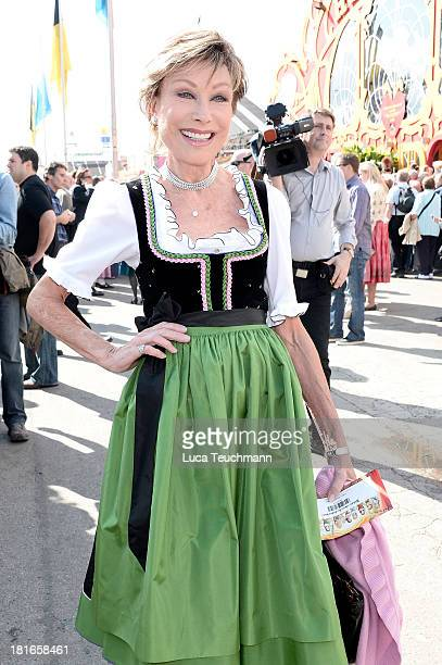 AntjeKatrin Kuehnemann attends the 'Sixt Damen Wiesn' in Hippodrom tent at Theresienwiese on September 23 2013 in Munich Germany