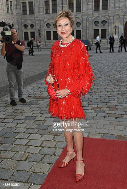 AntjeKatrin Kuehnemann during the 'Jose Carreras Foundation Celebrates Its 20th Anniversary' at Kaisersaal on September 16 2015 in Munich Germany