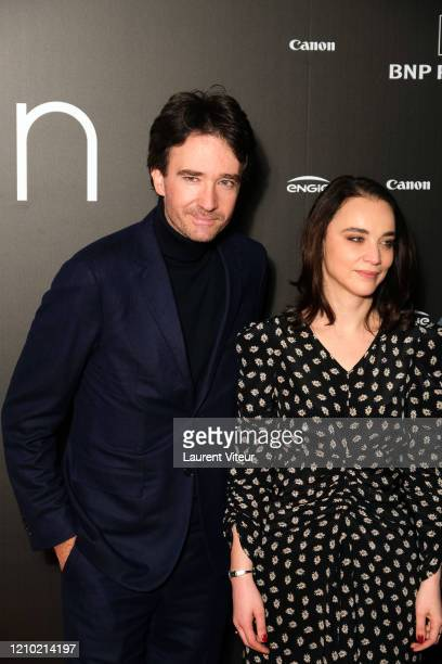 Antoine Arnault and Anastasia Mikova attend the Woman Premiere At UGC Normandie on March 03 2020 in Paris France