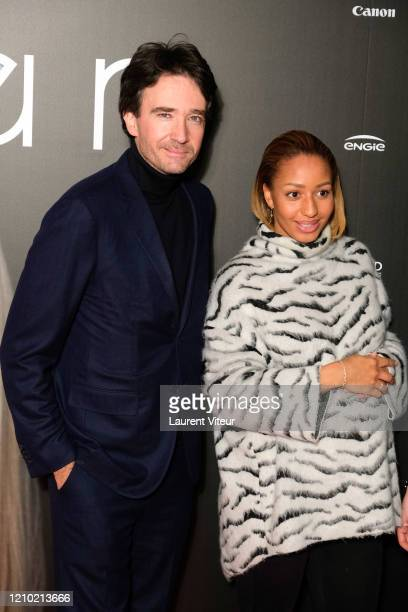 Antoine Arnault and Estelle Mossely attend the Woman Premiere At UGC Normandie on March 03 2020 in Paris France