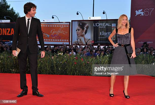 Antoine Arnault and Helene De Fougerolles attend the 'Somewhere' premiere during the 67th Venice Film Festival at the Sala Grande Palazzo Del Cinema...