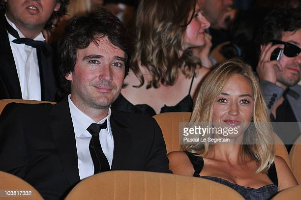 Antoine Arnault and Helene De Fougerolles attend the Somewhere premiere during the 67th Venice Film Festival at the Sala Grande Palazzo Del Cinema on...