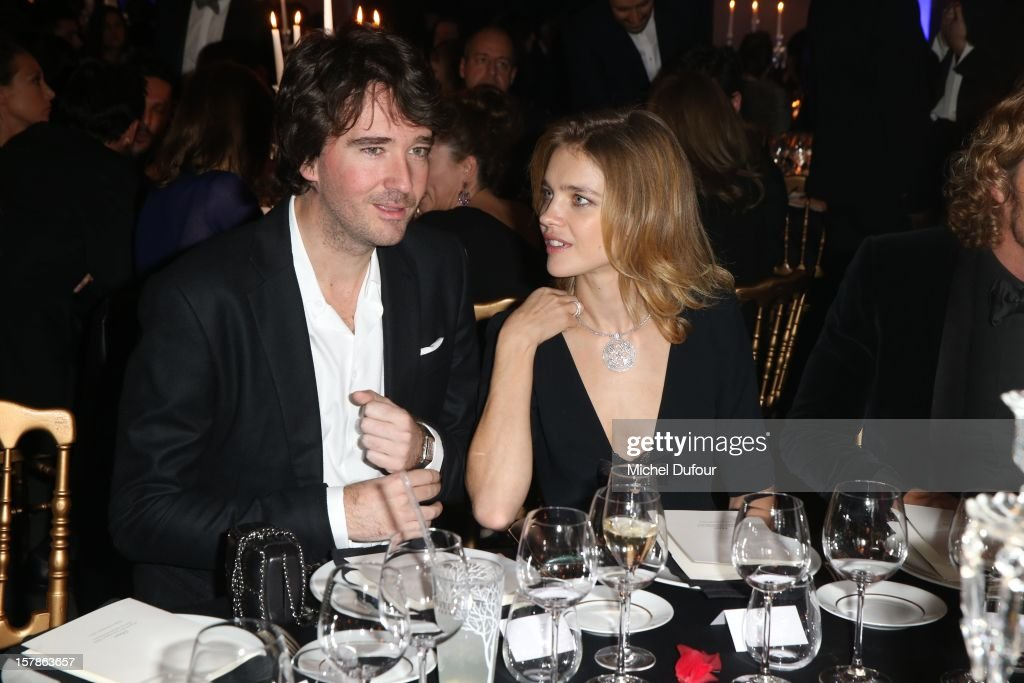 Antoine Arnault and Natalia Vodianova attend the Babeth Djian Hosts Dinner For Rwanda To The Benefit Of A.E.M. on December 6, 2012 in Paris, France.