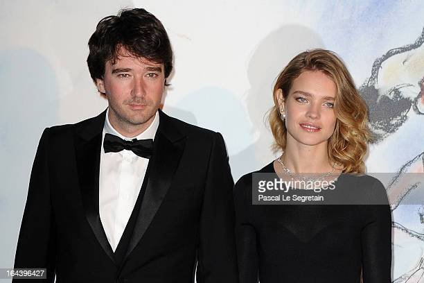 Antoine Arnault and Natalia Vodianova attend the 'Bal De La Rose Du Rocher' in aid of the Fondation Princess Grace on the 150th Anniversary of the...