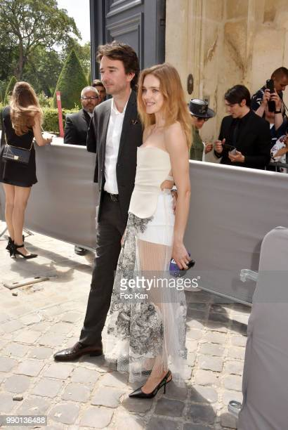 Antoine Arnault and Natalia Vodianova attend the Christian Dior Couture Haute Couture Fall/Winter 20182019 show as part of Haute Couture Paris...