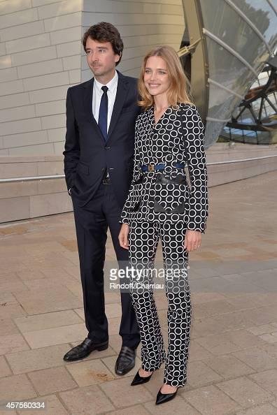 Antoine Arnault and Natalia Vodianova attend the Heavenly
