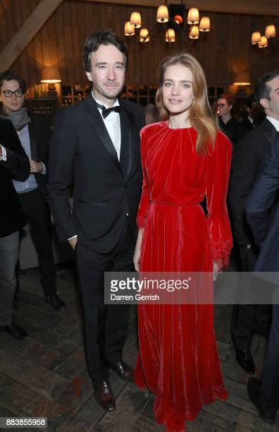 Antoine Arnault and Natalia Vodianova attend the gala dinner during #BoFVOICES on December 1 2017 in Oxfordshire England