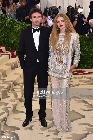 Natalia Vodianova and Antoine Arnault attend the The Art
