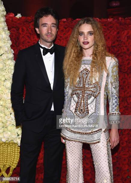 Antoine Arnault and Natalia Vodianova attend the Heavenly Bodies Fashion The Catholic Imagination Costume Institute Gala at The Metropolitan Museum...