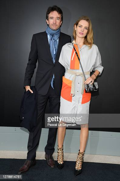Antoine Arnault and Natalia Vodianova attend the
