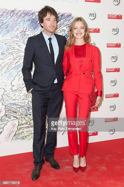 Antoine Arnault and Natalia Vodianova attend the official opening party of the Ilya And Emilia Kabakov Artwork Monumenta 2014 at the Grand Palais on...