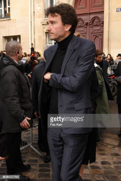Antoine Arnault attends the Christian Dior Haute Couture Spring Summer 2018 show as part of Paris Fashion Week on January 22 2018 in Paris France