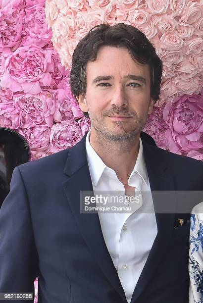 Antoine Arnault attends the Dior Homme Menswear Spring/Summer 2019 show as part of Paris Fashion Week on June 23 2018 in Paris France