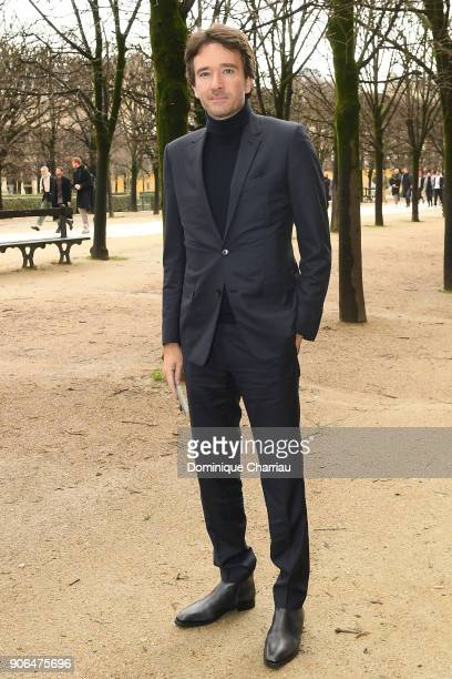 Antoine Arnault attends the Louis Vuitton Menswear Fall/Winter 20182019 show as part of Paris Fashion Week on January 18 2018 in Paris France