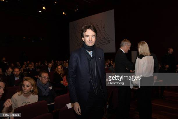 Antoine Arnault chief executive officer of Berluti SA poses for a photograph as LVMH Moet Hennessy Louis Vuitton announces full year earnings in...