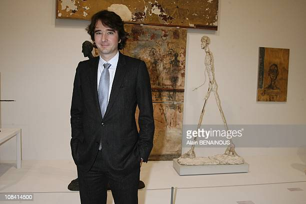 Antoine Arnault in Paris France on October 15th 2007