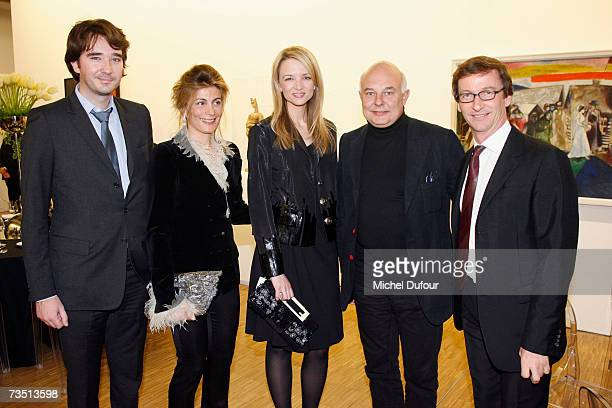 Antoine Arnault Mme Sachs Delphine Arnault Rolf Sachs and Thadeaus Roppac attend the Friends of Beaubourg Party to celebrate the 30th anniversary of...