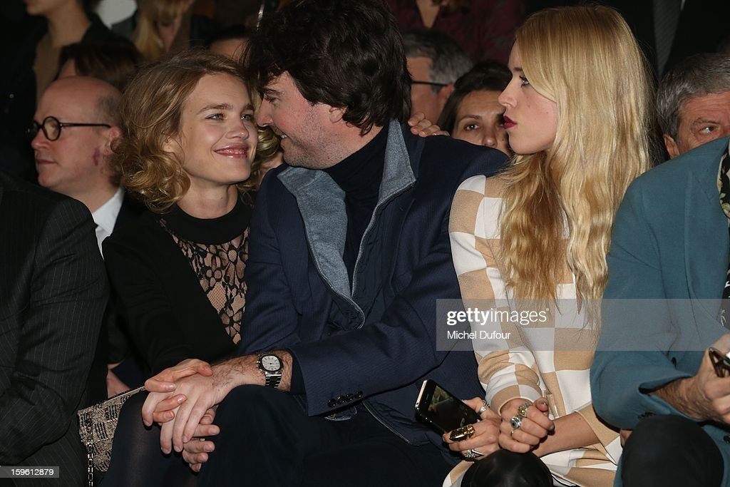Antoine Arnault and Natalia Vodianova attend the Dior