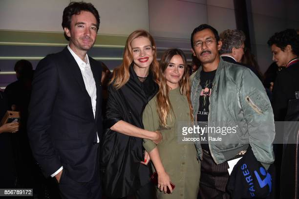 Antoine Arnault Natalia Vodianova Miroslava Duma and Haider Ackermann attend Fashion Tech Lab launch event hosted by Miroslava Duma and Stella...
