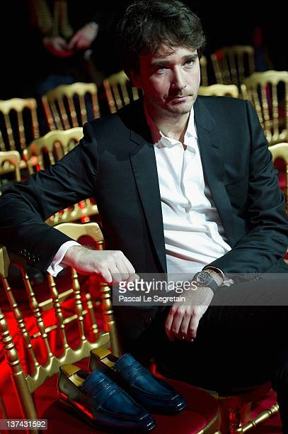 Antoine Arnault poses during the Berluti Menswear Autumn/Winter 2013 show as part of Paris Fashion Week on January 20 2012 in Paris France