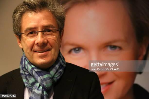 Antoine Audi, maire de Périgueux, tête de liste dans le département de la Dordogne de la droite et du centre pour les élections régionales 2015 de la...