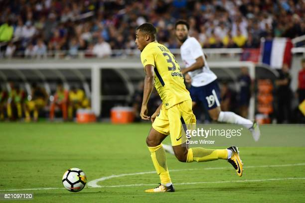 Antoine Bernede of PSG during the International Champions Cup match between Paris Saint Germain and Tottenham Hotspur on July 22 2017 in Orlando...
