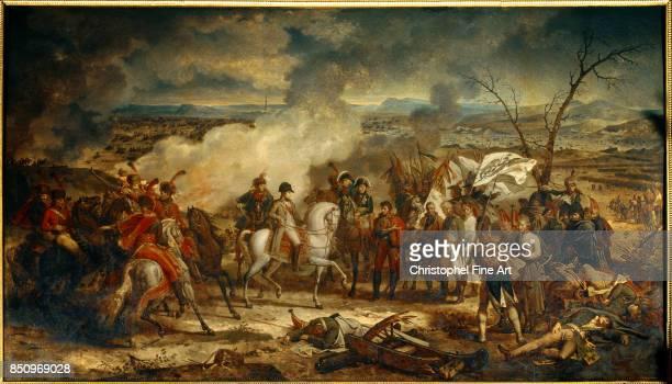 Antoine Charles Horace Vernet aka Carle Vernet The Battle of Austerlitz Boissy Saint Leger Chateau De Grosbois