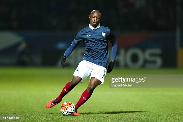 Antoine Conte of France during the Uefa U21 European Championship qualifier between France and Scotland at Stade Jean Bouin on March 24 2016 in...