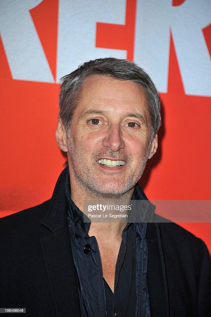 Antoine de Caunes attends 'Comme Des Freres' Premiere at Cinema Gaumont Opera on November 15, 2012 in Paris, France.