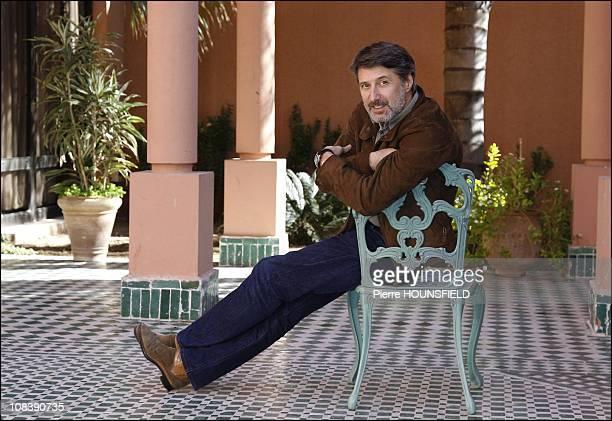 Antoine De Caunes in Marrakech Morocco on December 04 2006