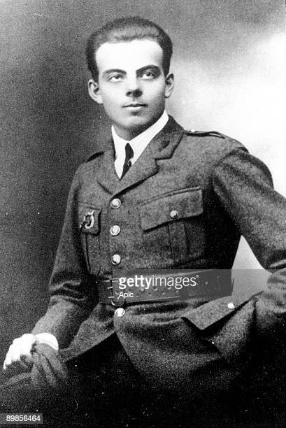 Antoine de SaintExupery french writer and pilot here young c 1922