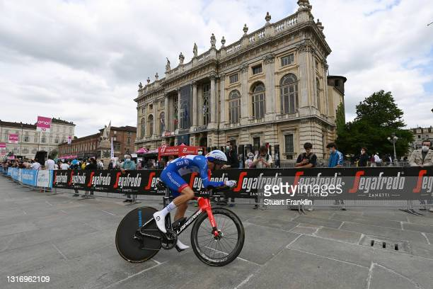 Antoine Duchesne of Canada and Team Groupama - FDJ during the 104th Giro d'Italia 2021, Stage 1 a 8,6km Individual Time Trial stage from Torino to...
