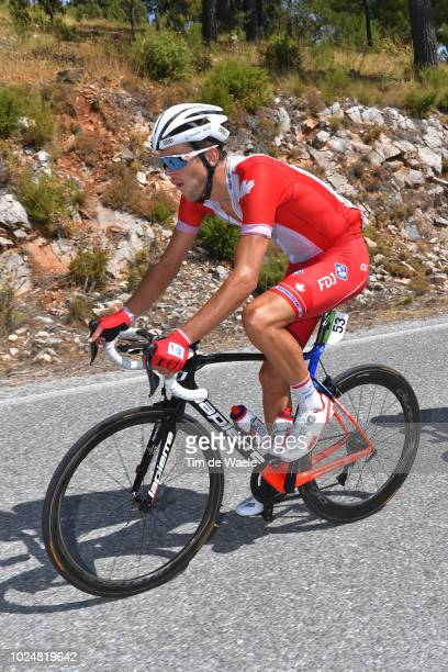 Antoine Duchesne of Canada and Team Groupama FDJ / during the 73rd Tour of Spain 2018, Stage 4 a 161,4km stage from Velez-Malaga to Alfacar. Sierra...