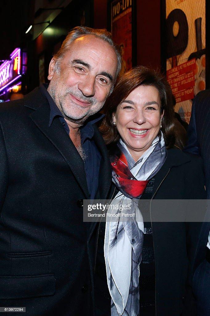 """""""Ivo Livi Ou Le Destin D'Yves Montand"""" : Theater Play at Theatre De La Gaite Montparnasse In Paris"""