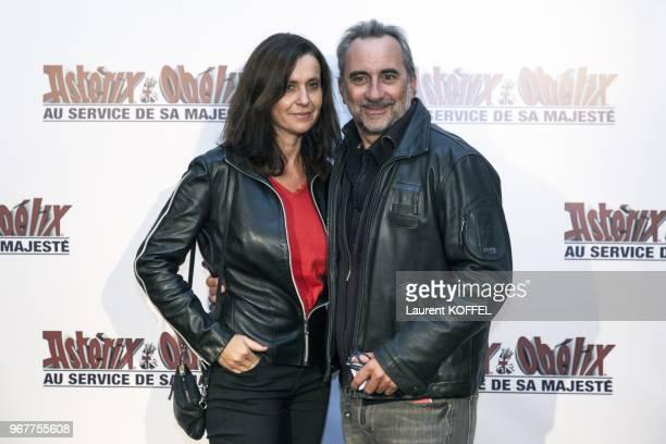 Antoine Dulery attends at Asterix et Obelix au service de sa majeste film premiere at Le Grand Rex on September 30 2012 in Paris France