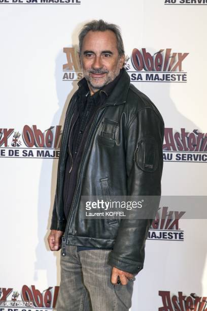 Antoine Dulery attends at 'Asterix et Obelix au service de sa majeste' film premiere at 'Le Grand Rex' on September 30 2012 in Paris France