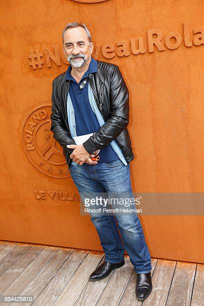Antoine Dulery attends the French Tennis Open Day Five at Roland Garros on May 26 2016 in Paris France