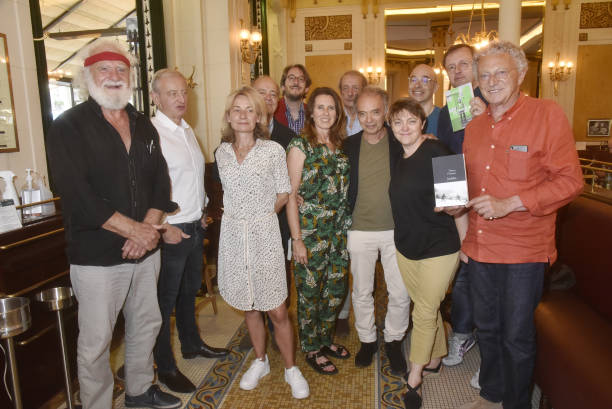 FRA: Book And Wine Fair - Day Two At Les Deux Magots