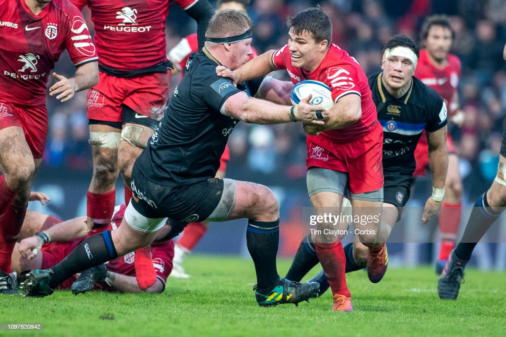 Stade Toulouse Vs Bath. European Rugby Championship Cup. : News Photo