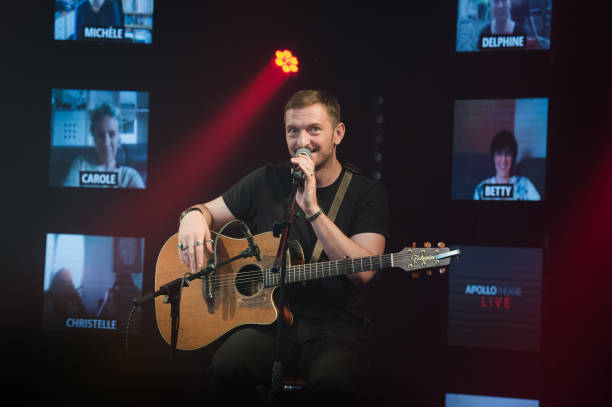 FRA: Antoine Elie Performs At Apollo Theatre In First Post Lockdown Concert