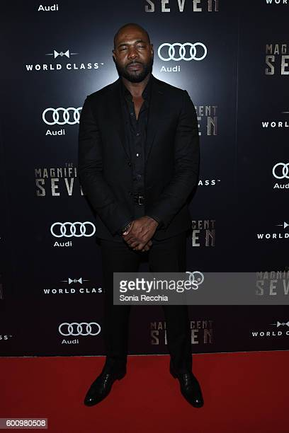 Antoine Fuqua attends PostScreening Event For 'The Magnificent Seven' CoHosted By Audi During The Toronto International Film Festival at Storys...