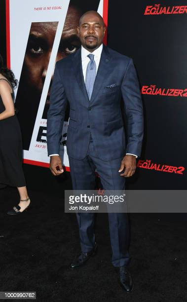 Antoine Fuqua attends premiere of Columbia Picture's 'Equalizer 2' at TCL Chinese Theatre on July 17 2018 in Hollywood California